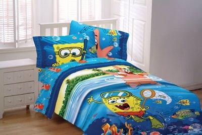 Spongebob Sea Adventure Valance (Spongebob Sea Adventure Bedding)