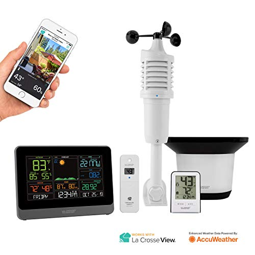 La Crosse Technology C83100-INT WiFi Professional Weather Station