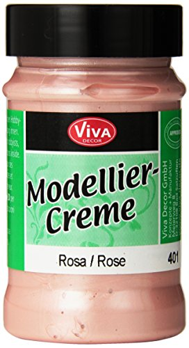 Viva Decor 90gm Modeling Creme, Rose (Paper Creme)