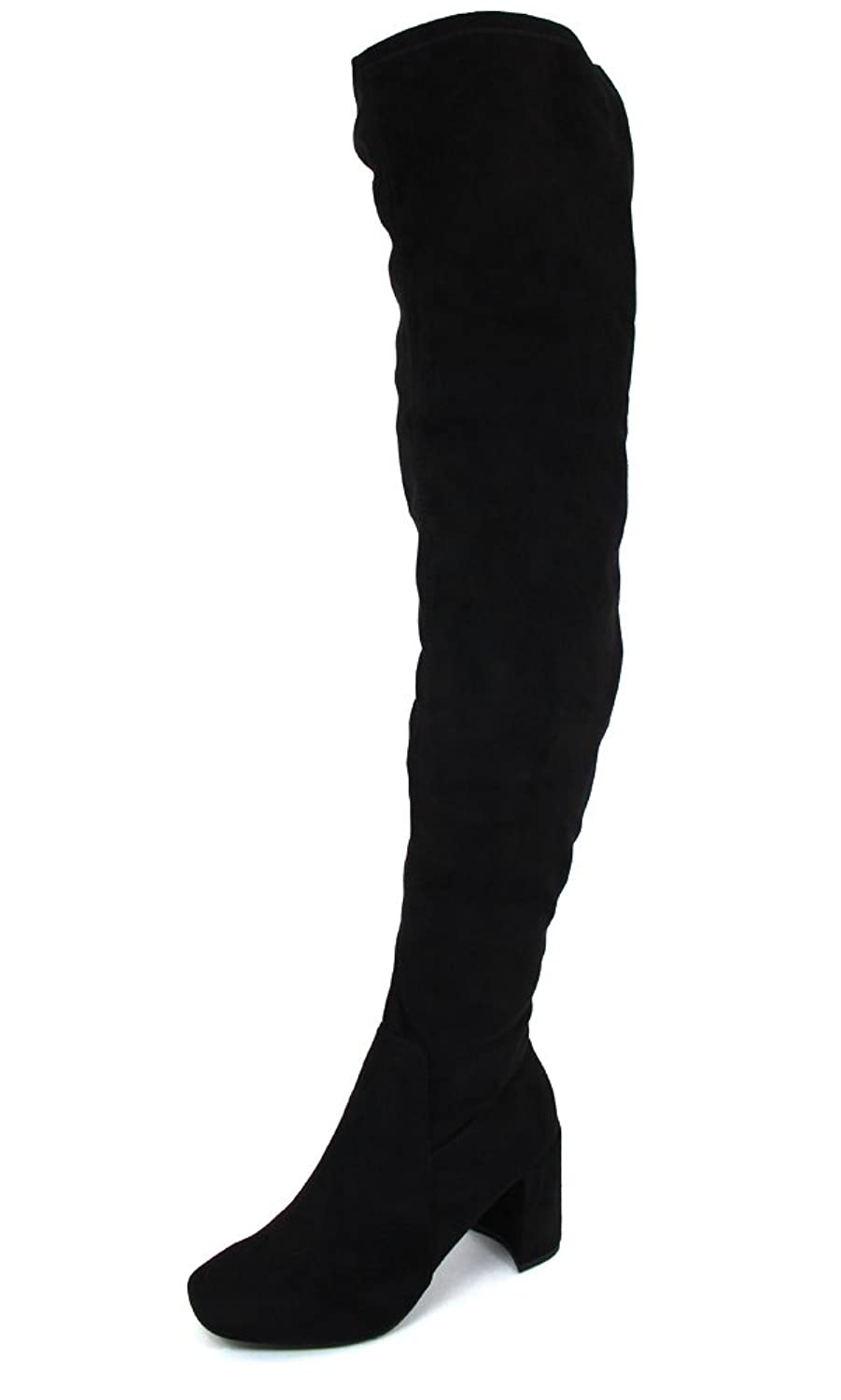 Speed Limit 98 Women's Billy Black Synthetic Boots 7.5 B(M) US