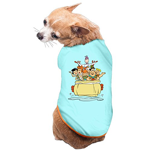 [MEGGE The Flintstones Cute Dog Vest SkyBlue L] (Wilma Costume Target)