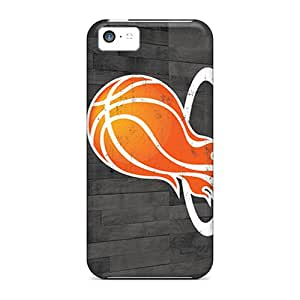 Scratch Resistant Hard Cell-phone Cases For Iphone 5c With Custom High-definition Miami Heat Pictures JasonPelletier