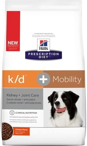 Hill's Prescription Diet k d Mobility Canine Dry Dog Food 8.5 lb