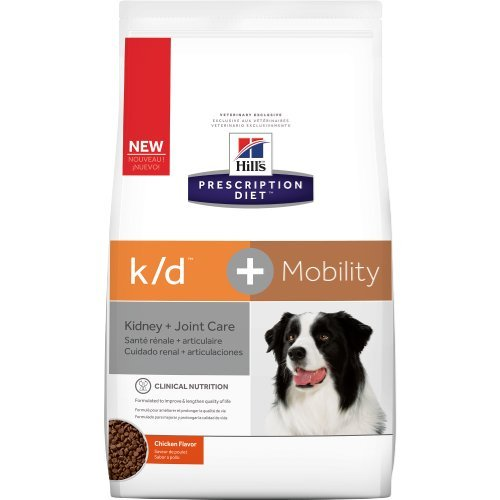 Hill's Prescription Diet k/d + Mobility Canine Dry Dog Food 18.7 lb