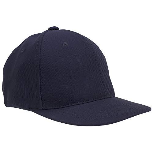 Adams Comfort Fit Interlock Combo Umpire 4-Stitch Cap, Navy Blue, Small/Medium