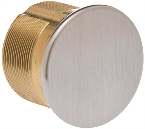KABA ILCO 7180DC-26D 1-1/8 inch Dummy Mortise Cylinder Satin Chrome - 116452 by Kaba Ilco