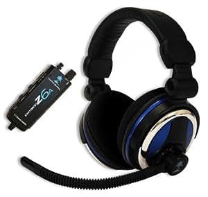 "Turtle Beach Ear Force Z6A - Auriculares con micrófono (PC/Juegos, Binaurale, Diadema, Alámbrico, 3.5 mm (1/8""), 3.7 m)"