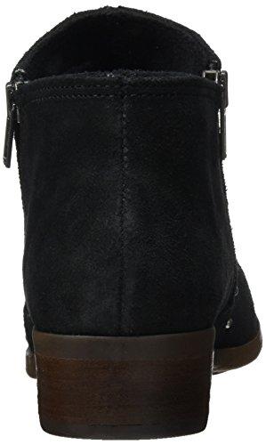 Brie Zip Noir Round Stud Women's Side Toe Minnetonka Boot 5wP1A
