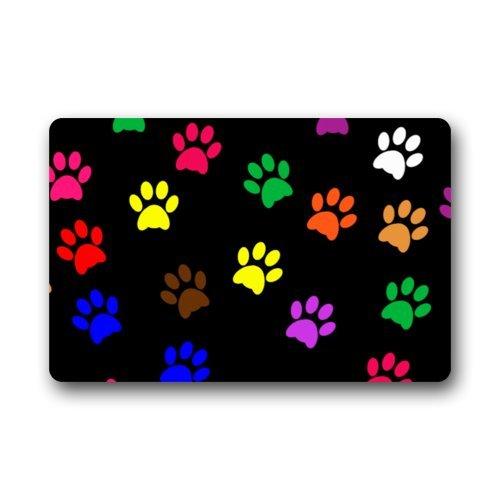 Fantastic Doormat Cool Colorful Animal Paw Print Dog Paw Door Mat Rug Indoor/Outdoor/Front Door/Bathroom Mats£¬Bedroom Doormat 23.6