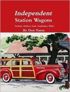 HUDSON BOOK NARUS CAR 1939-1954 DON