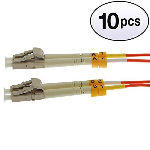 (GOWOS (10 Pack) 5m LC-LC Duplex Multimode 50/125 Fiber Optic Cable)
