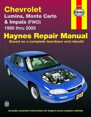 amazon com haynes chevrolet lumina 95 01 monte carlo fwd 95 05 rh amazon com User Manual PDF 2007 Chevy Impala SS