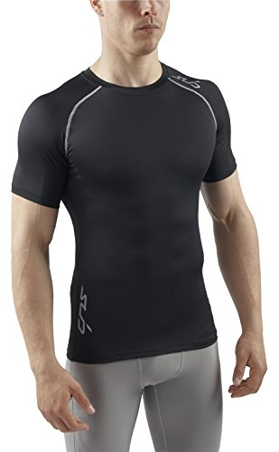 Sub Sports Mens Stay Cool Short Sleeve T-Shirt Top Vest Base Layer Gym