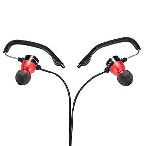 ULDUM U-121004 Auricular Deportivo Estéreo Taponnes MIC In-Ear con 3.5mm Tapón cancelación de ruido & Efecto de sonido maravilloso para Teléfonos inteligentes Desktop Notebook Laptop MP3/4/5