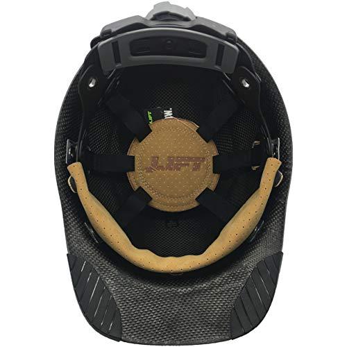 DAX Actual Carbon Fiber Cap Style Hard Hat - Matte Black by DAX (Image #4)