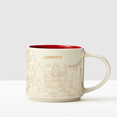 Starbucks You Are Here Fete 2016 London Ceramic Coffee Mug New with Box