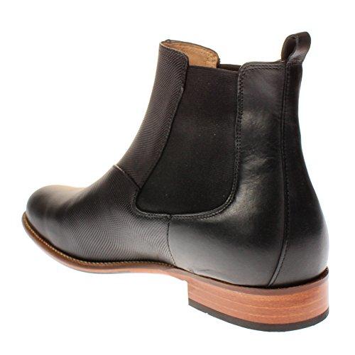 TEN POINTS Damen Linn Chelsea Boots Schwarz (Black)
