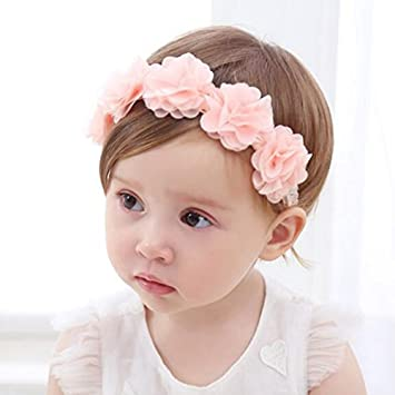 100% True Cute Baby Headband Newborn Infant Toddler Girl Flower Hair Accessories Traveling Hair Accessories Baby & Toddler Clothing