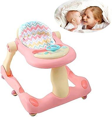 WDXIN Bebé Andador Juguete Multifuncional Defensa Rollover Bebe ...