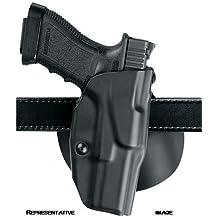 Safariland 6378 ALS Paddle & Belt Slide Holster, Glock 34, 35 , OD Green, Left Hand,