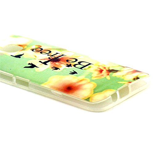 Einzige Colorful Soft Gel Flexible TPU Silicone Skin Case Cover for HTC One M9 (be free 01) with Free Universal Screen-stylus