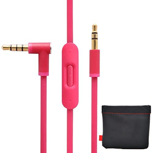 new-version-original-replacement-audio-cable-cord-wire-with-in-line-microphone-and-control-original-