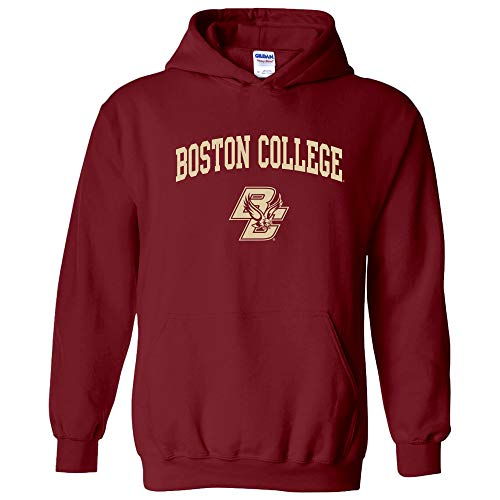 - AH03 - Boston College Eagles Arch Logo Hoodie - X-Large - Garnet