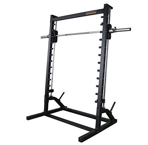 411wOGxGhpL - Powertec Fitness Workbench Roller Smith System-Black