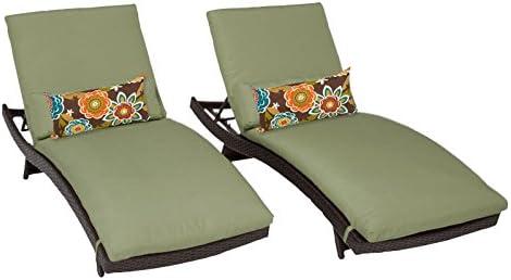 TK Classics Bali Chaise Outdoor Wicker Patio Furniture