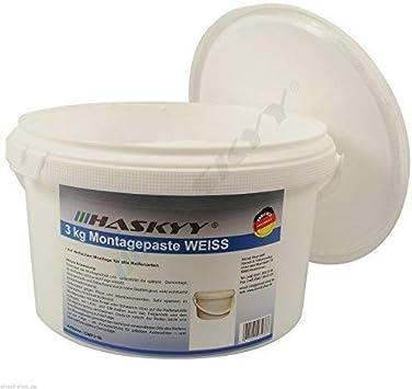 3kg Reifenmontagepaste Reifenmontierpaste Montagepaste Weiß Montagewax Reifen Auto