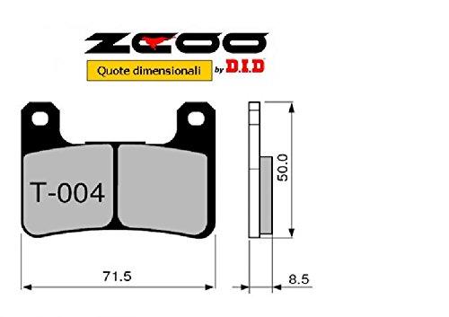 45T00400 PASTIGLIE FRENO ZCOO (T004 EX) SUZUKI GSX-R 1000 K7-K8 2007-2008 (ANTERIORE)