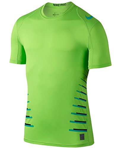 Nike Men's Pro Green Cool Fitted T-Shirt, size XX-Large