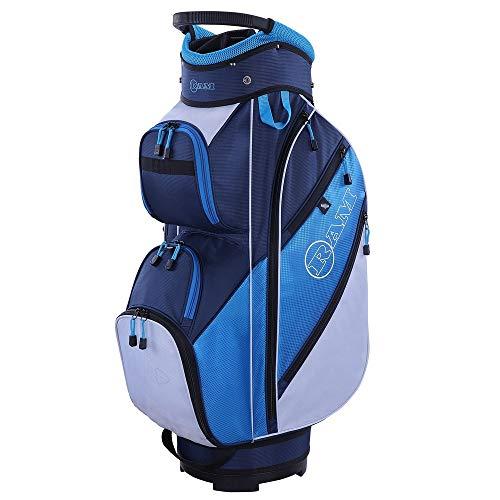 RAM Golf Lightweight Ladies Cart Bag with 14 Way Full Length Dividers