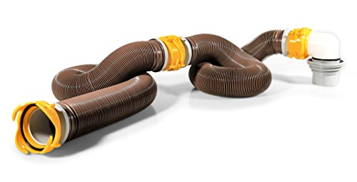 Camco 20' Sewer Hose Kit 39625 Revolution...
