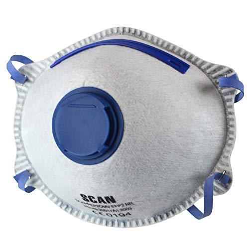 Scan Moulded Masque jetable renfort protection FFP2 BOX DE 10 scappep 2MVB