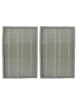 (2) Kenmore Sears EF 1 Pleated Vacuum HEPA Filter w/activated Charcoal, 86899 Progressive Vacuum Cleanser, C368KCNP1, 40324, 02080007000