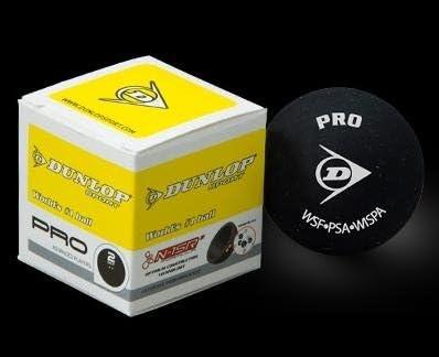 Dunlop Pro Double Yellow Dot Squash Ball 1-pack