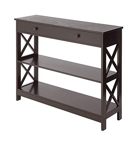 Convenience Concepts Oxford 1-Drawer Console Table, - Office Table Console Modern