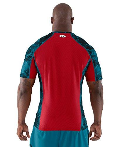 Under Armour Men's NFL Combine Authentic Fitted Short Sleeve Medium Capri