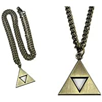 Cosplay Anime Legend of Zelda Triforce Symbol Necklace (gold)