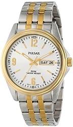 Pulsar Men's PV3002 Analog Display Japanese Quartz Two Tone Watch