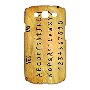 Luckhappy123 store Customize Ouija Board black plastic Case Fits and Protect 3D Samsung Galaxy S3 I9300
