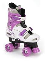 Osprey Quad Skates - Pattini a rotelle, Bambina, Colore Nero, bianco e viola,...