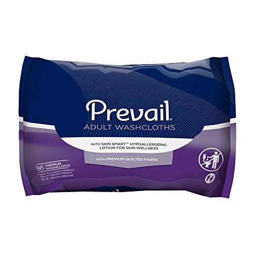 Prevail Premium Disposable Washcloths, Large Refill, 12 x 8 Inch, WW-902 (Case of 576)