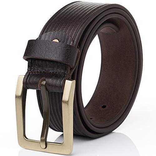 Hammer Anvil Mens Full Grain Leather 38 MM Casual Jean Belt ()