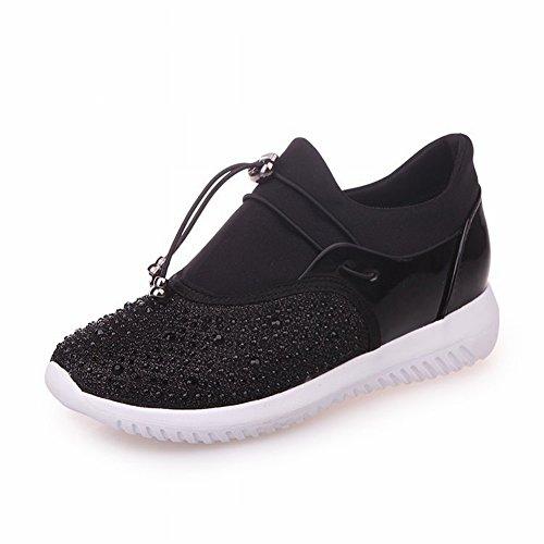 Coinciden negro Pareja con Los Los Zapatos Perlas EUR36 Zapatos 5 Planas de de de Todo Encaje Deportivos 6wqXqfF