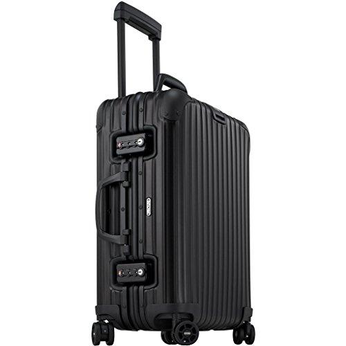 Rimowa Topas Stealth IATA Luggage 20″ Cabin Multiwheel 34.0 L Matte Black