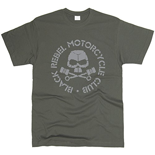 Black Rebel Motorcycle Club T-Shirt Men Regular Fit Cotton (L)