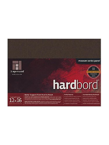 Ampersand Hardbord 12 in. x 16 in. each [PACK OF 3 ] by Ampersand