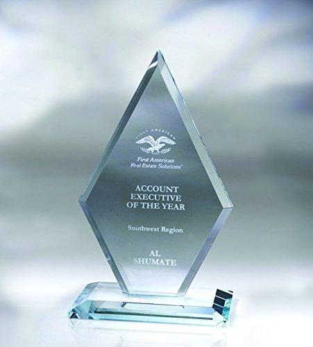 Arrowhead Starfire Glass Award - Large
